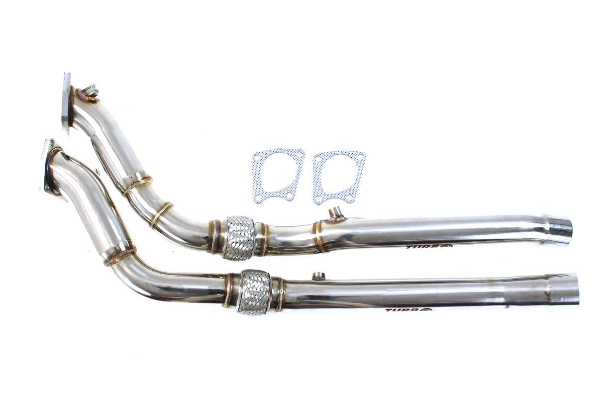 Downpipe AUDI S4 RS6 C5 4.2 V8 DECAT - GRUBYGARAGE - Sklep Tuningowy